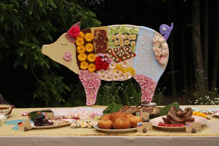 『食堂かたつむり』─「名前をつけた豚」を食べる …