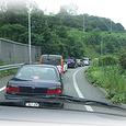 東名出口が渋滞